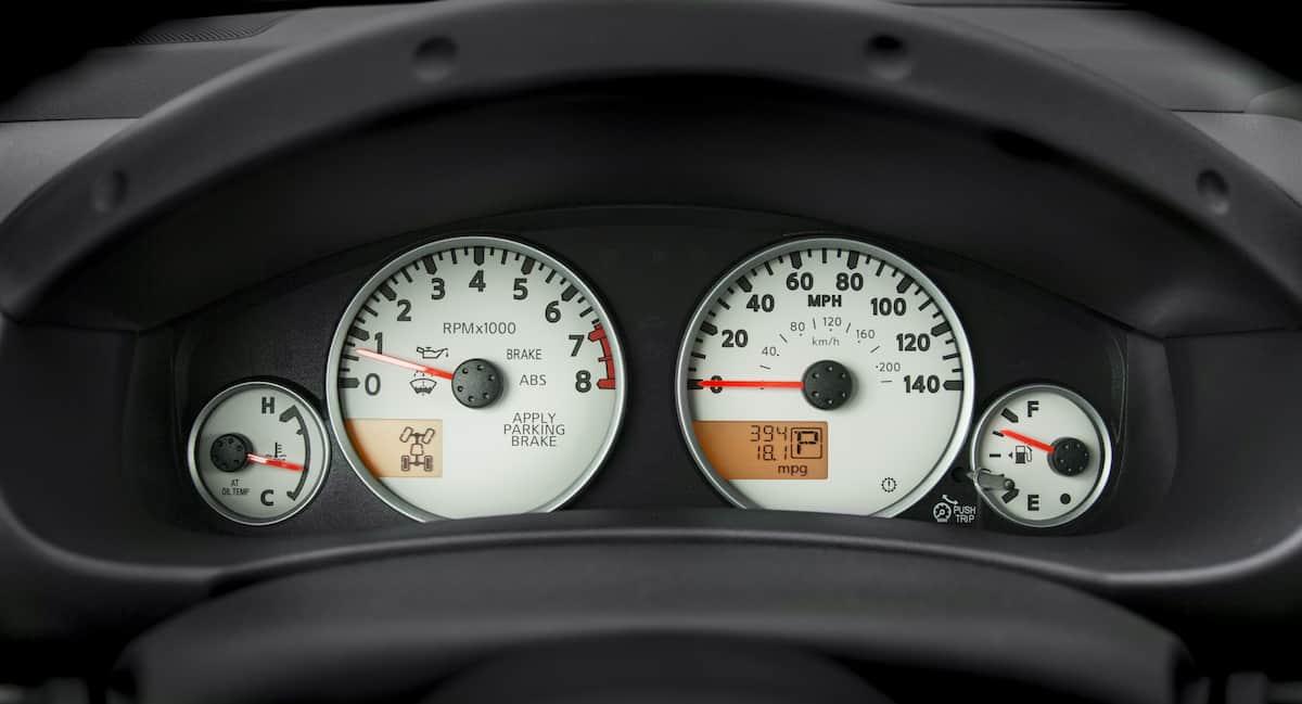 2020 Frontier_Speedometer 2