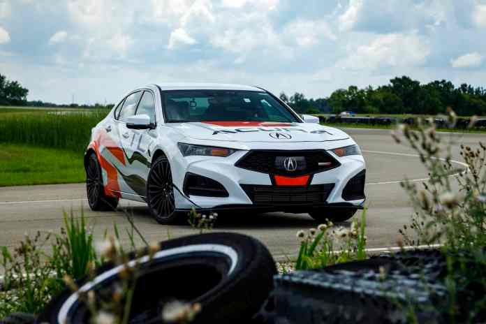2021 acura TLX Type S horsepower