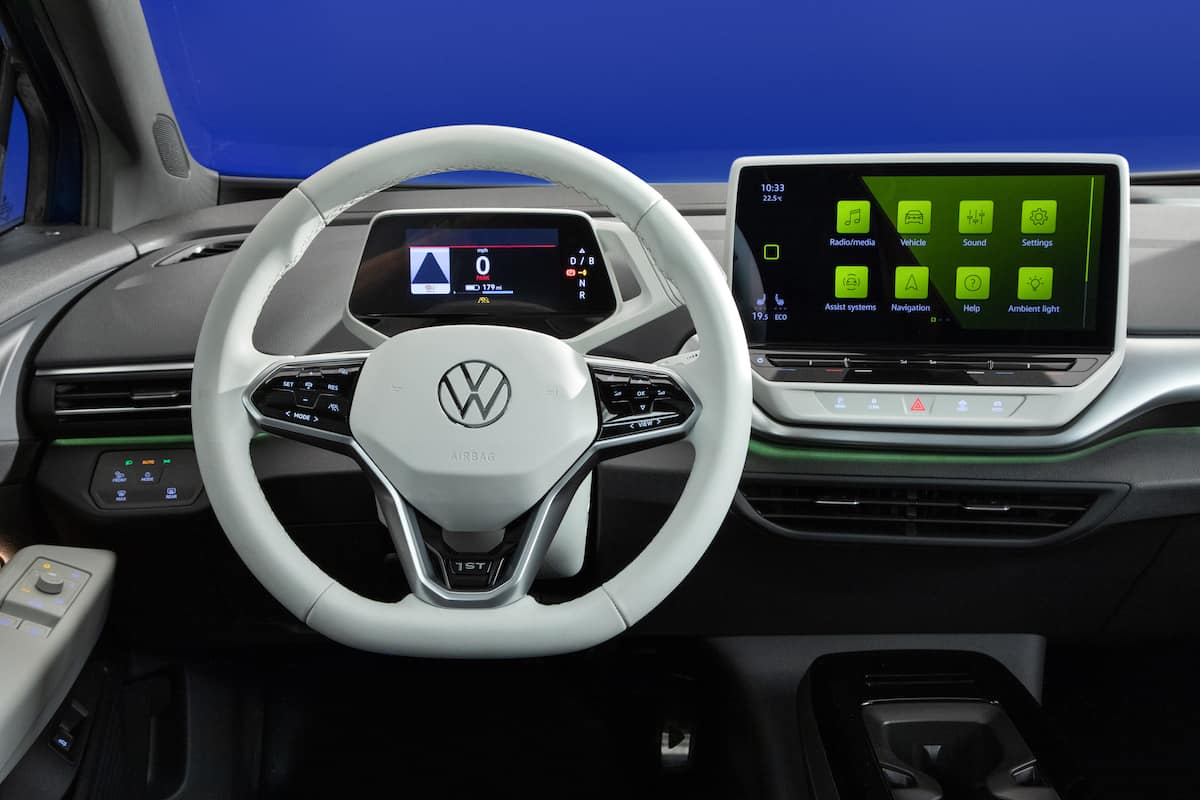 2021 VW ID4 compact electric suv 14
