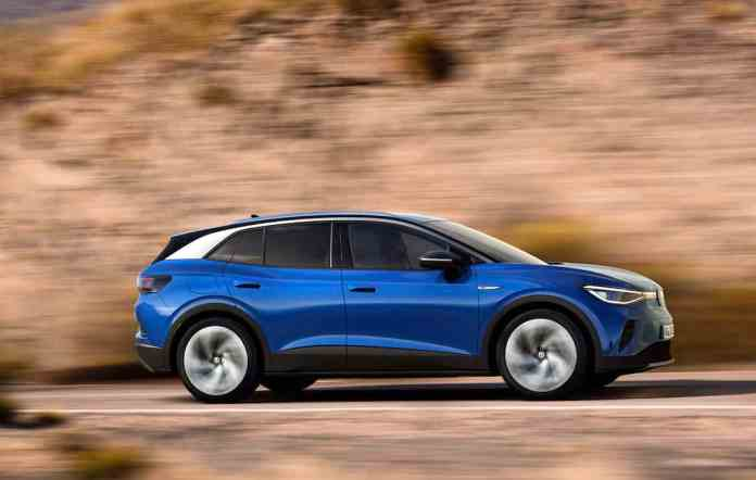 2021 VW ID4 compact electric suv 16