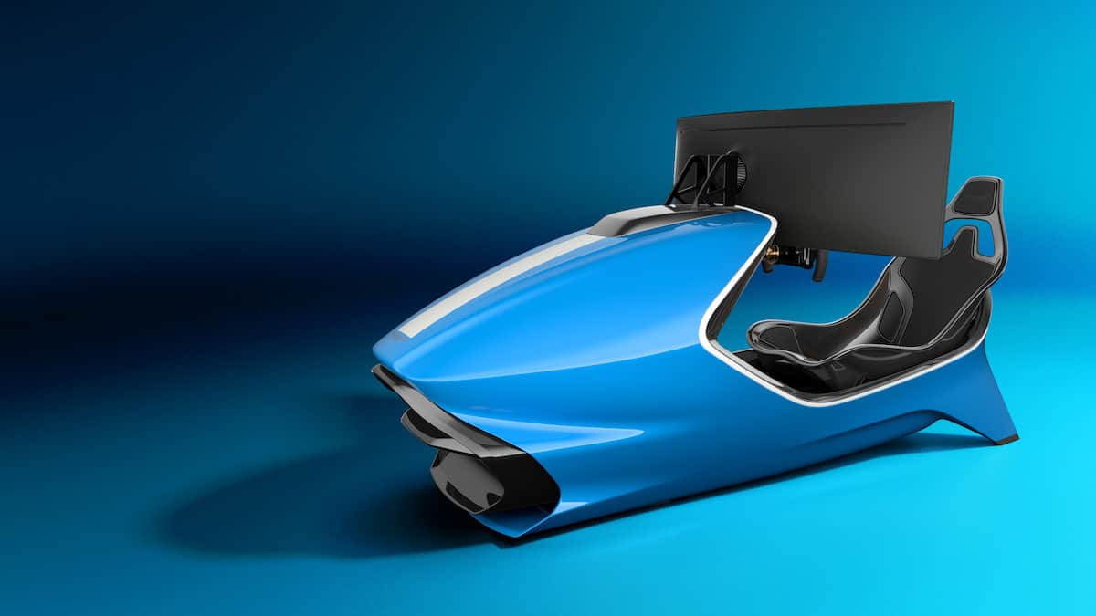 Aston Martin AMR-C01 Racing Simulator Cockpit 11