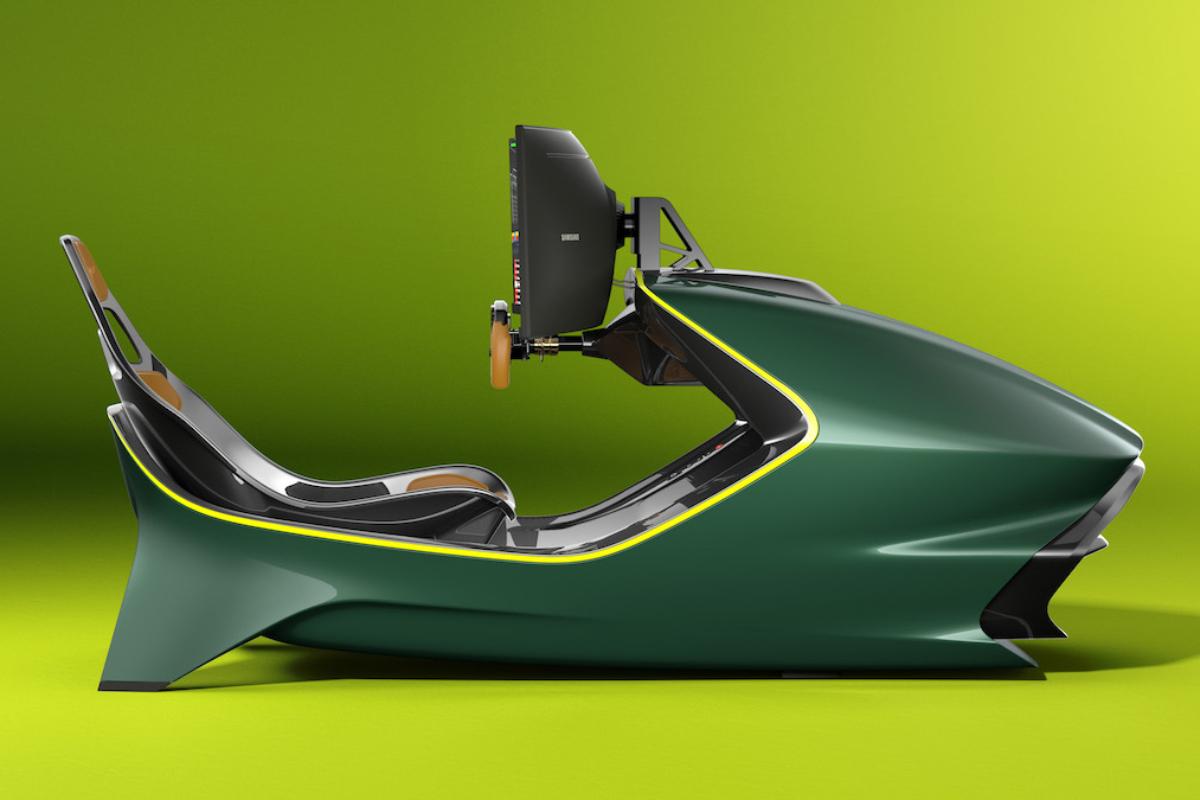 Aston Martin AMR-C01 Racing Simulator Cockpit 18