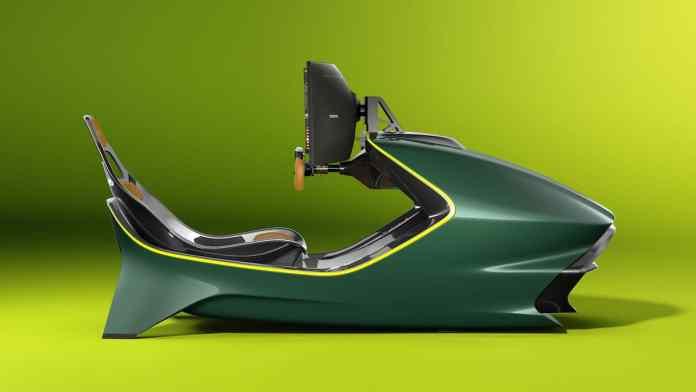 Aston Martin AMR-C01 Racing Simulator Cockpit