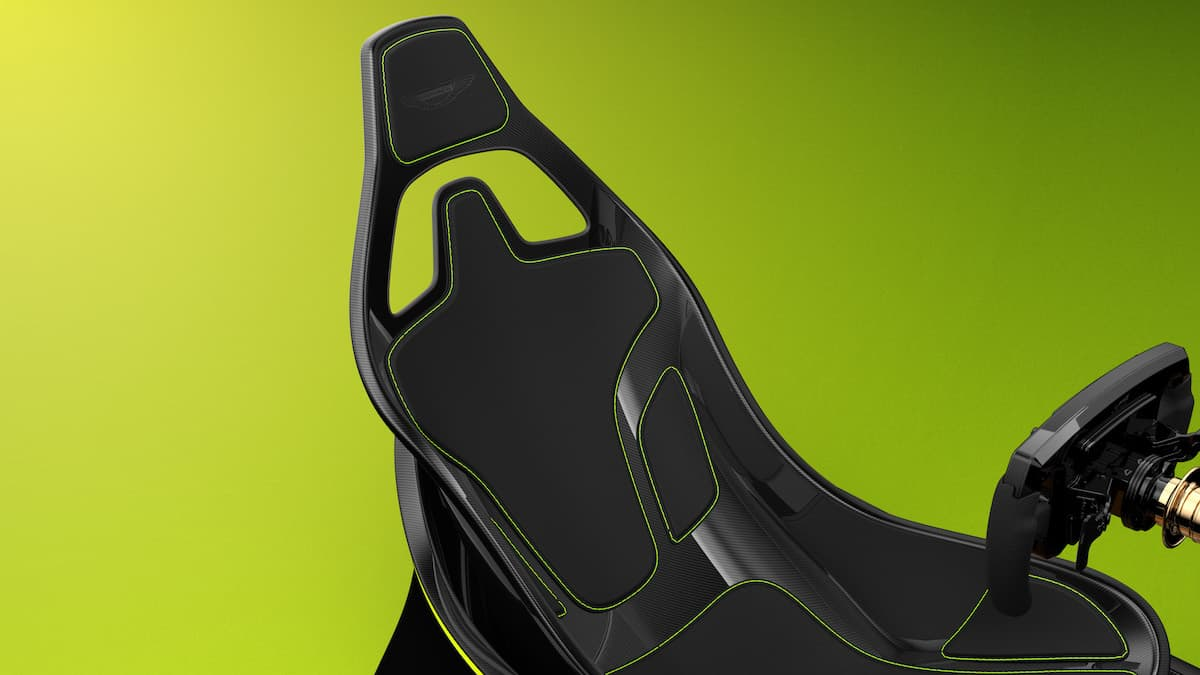 Aston Martin AMR-C01 Racing Simulator Cockpit 4