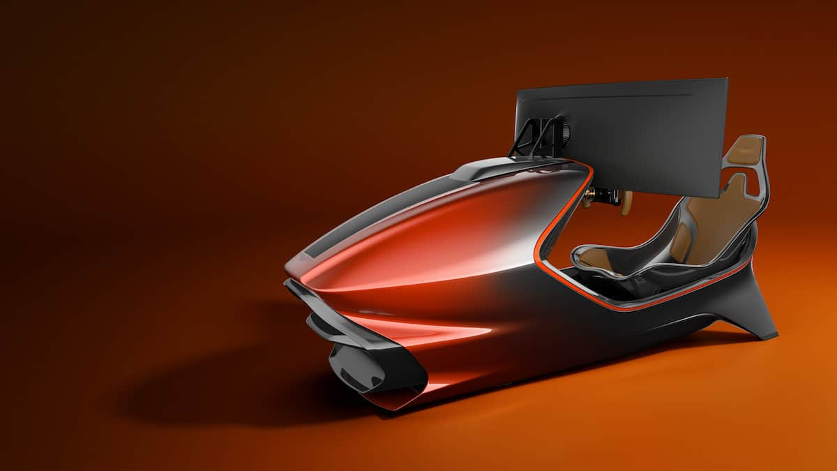Aston Martin AMR-C01 Racing Simulator Cockpit 9