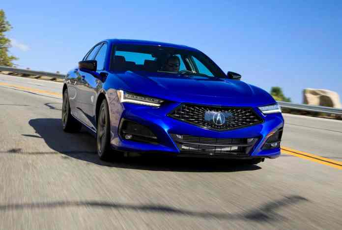 2021 TLX A-Spec review