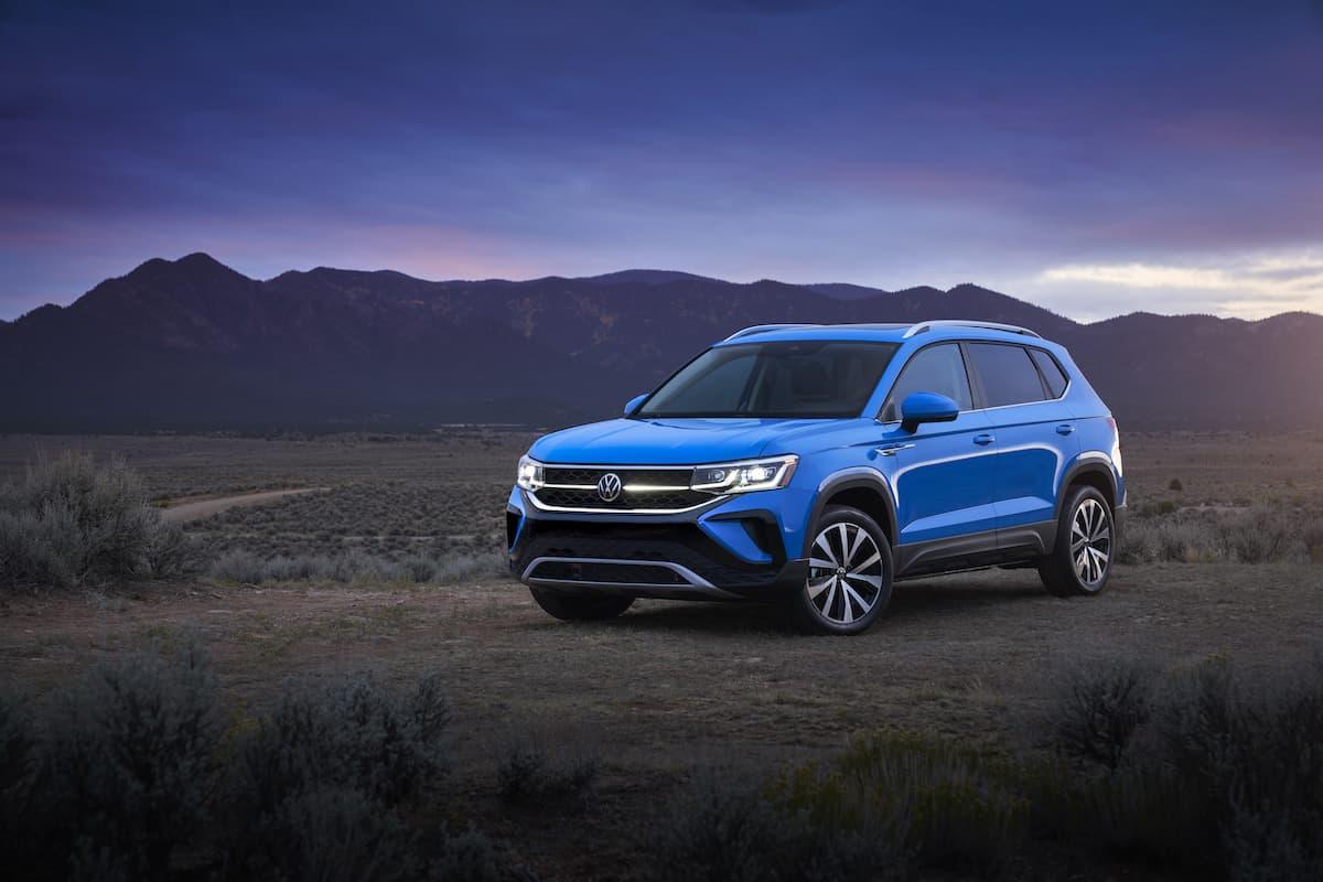 2022 VW Taos compact SUV 1