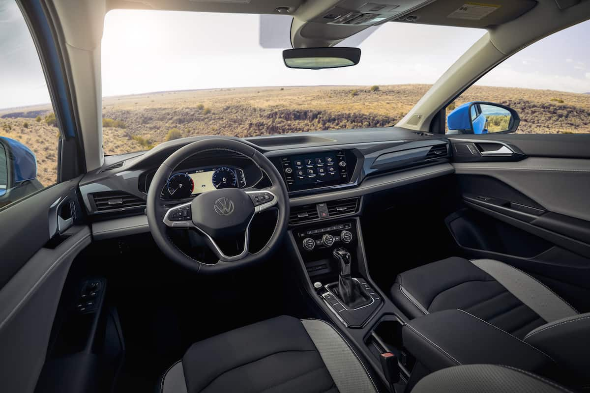 2022 VW Taos compact SUV 17