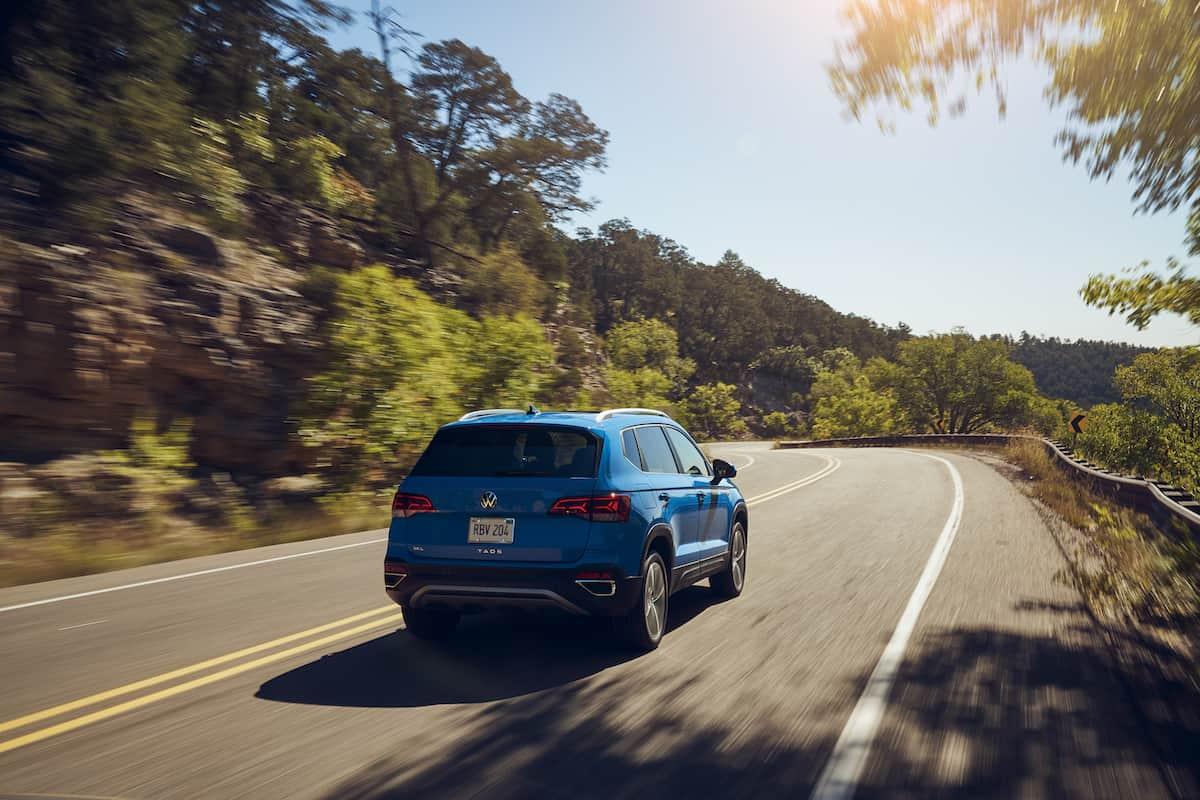 2022 VW Taos compact SUV 30