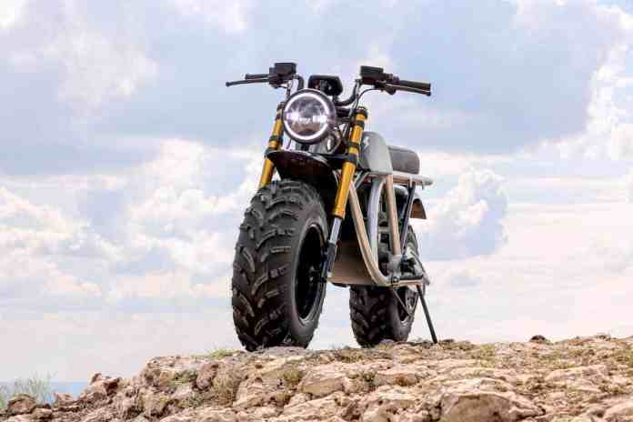 Volcon Grunt all electric off-road motorcycle