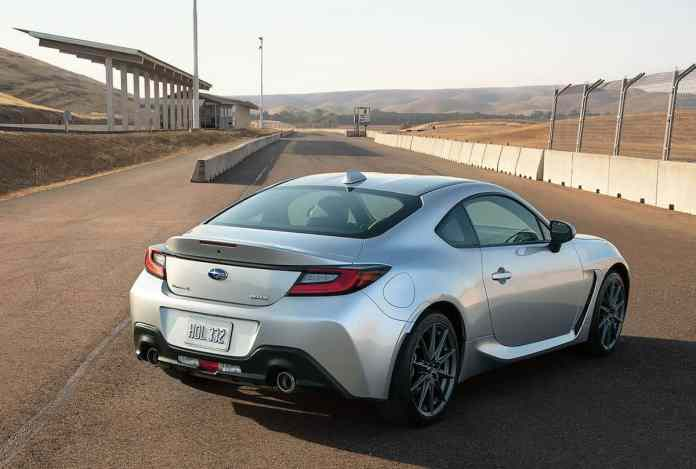 2022 Subaru BRZ rear profile
