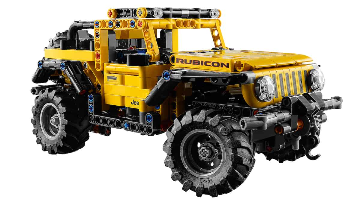 The Jeep®brand and the LEGO Group reveal theJeep Wrangler RubiconLEGO®Technic™model.