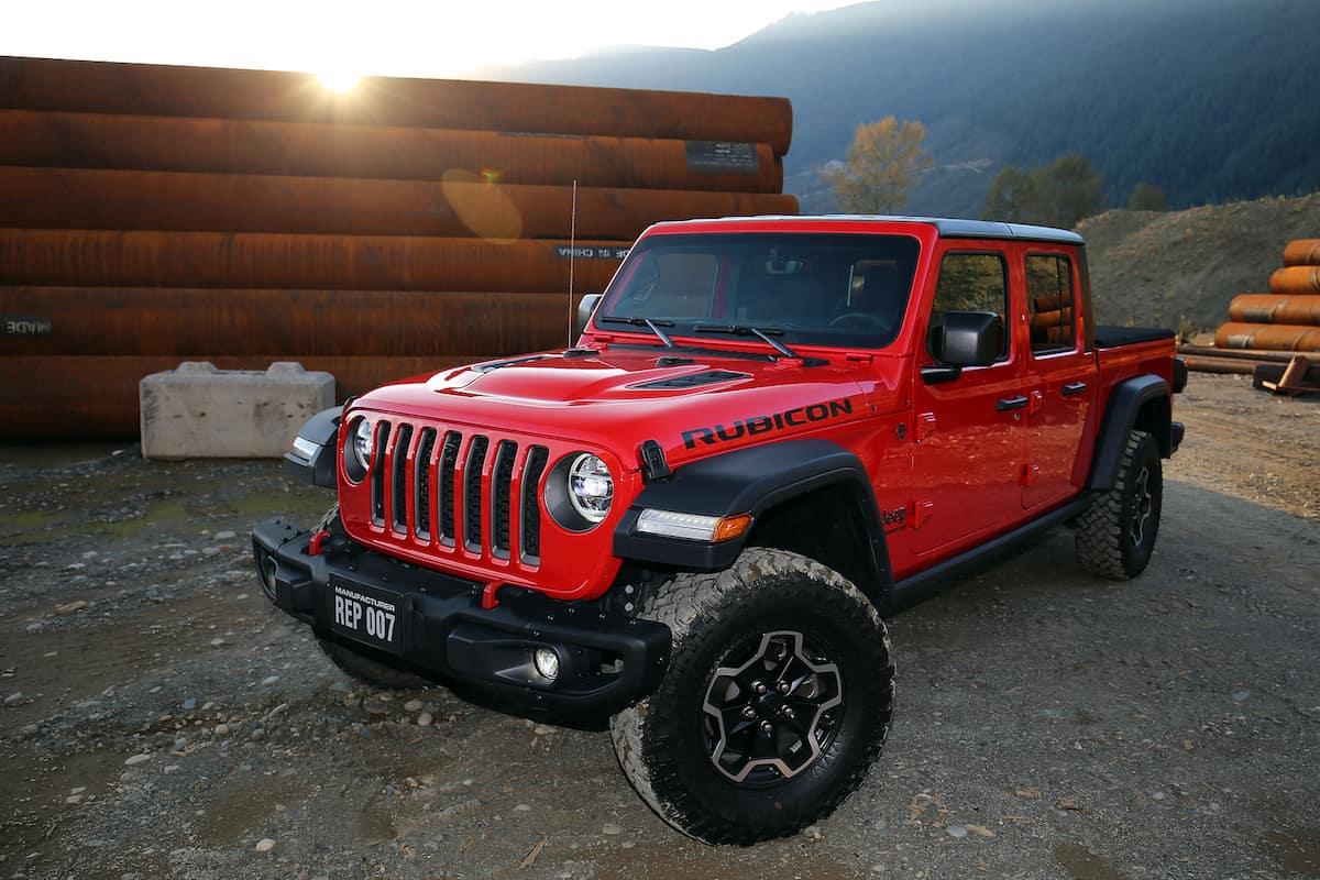 2020 Jeep Gladiator Rubicon 1