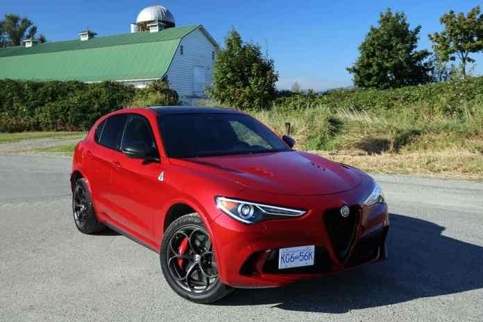 2021 Alfa Romeo Stelvio Quadrifoglio review