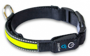 tractive led dog collar