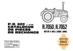 revue technique et Manuel entretien pour tracteur renault
