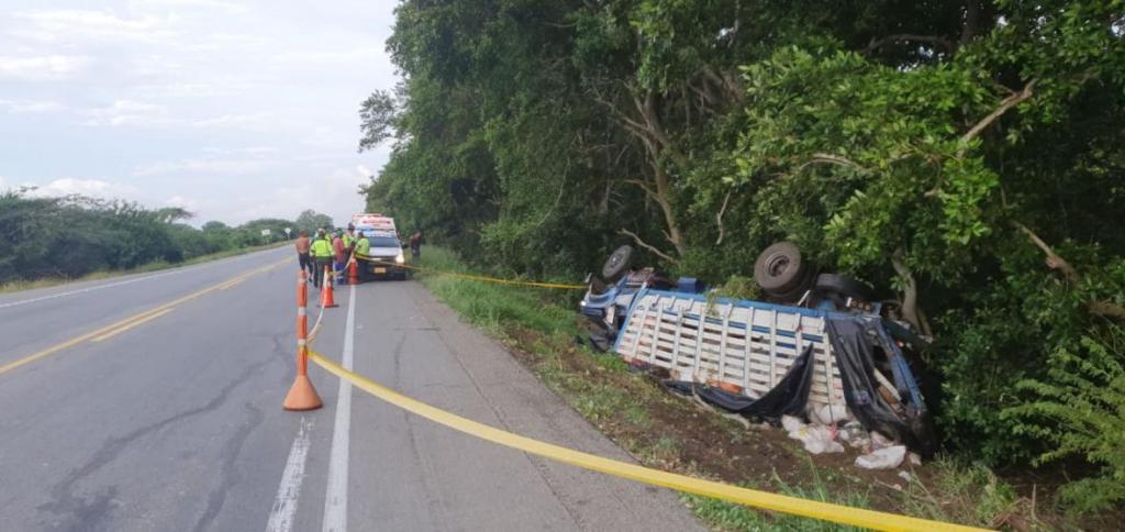 accidente 4 muertos ciénaga