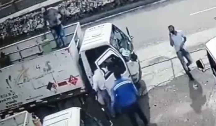 capturado por hurto a camión