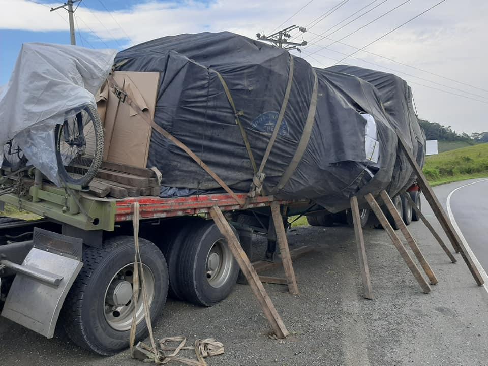 camión varado