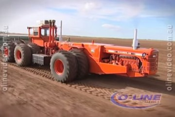 tracteur chamberlain a double motorisaion