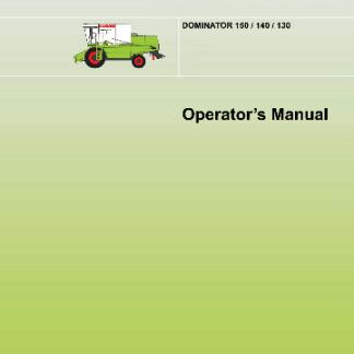 Operators-manual-CLAAS-Dominator-150
