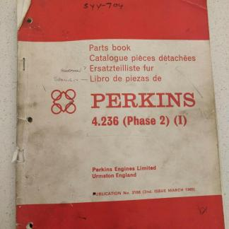 perkins 4.236 parts book catalog phase 2
