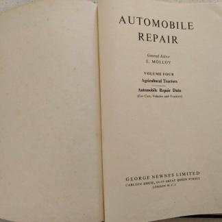 Automobile Repair Volume 4 Commercial Vehicles George Newnes
