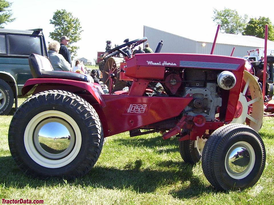 TractorData.com Wheel Horse 1055 Tractor Photos Information