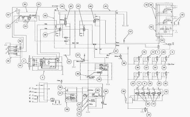 John Deere 6400 Pto Wiring Diagram Main Components Of The Low And High Pressure Mf 6290 6270
