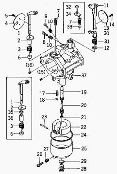 Kawasaki FC290V Carburetor