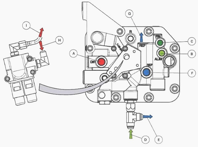 Massey Ferguson 5610, 5410 series tractor hydraulic system