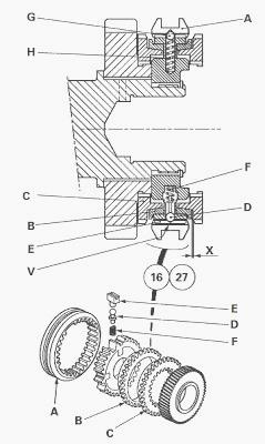 Massey Ferguson 8140, 8160 heavy gearbox 32 speeds