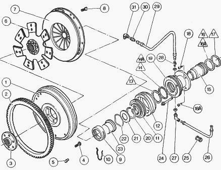 Ford 5000 Tractor Power Steering Diagram
