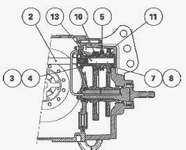 Massey Ferguson 6465, 6480, 6490 Tractor Rear PTO