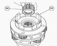 Massey Ferguson 8130, 8110, 8210 gearbox dynashift