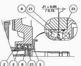 Massey Ferguson 6480 Tractor Removable PTO shaft