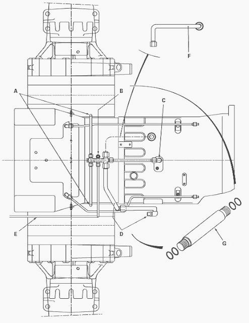 Massey Ferguson 7485, 7480 closed centre hydraulic system