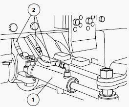 Massey Ferguson 8280 Tractor hydrostatic steering for 4WD