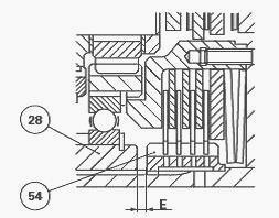 Massey Ferguson 8240, 8260 gearbox dynashift with power