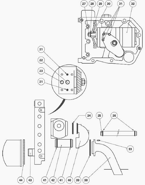Massey Ferguson 5400, 6200 series tractors hydraulic