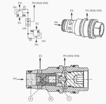 MF 7480 Tractor DYNA VT transmission Hydraulic