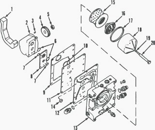 case tractor wiring diagram copeland compressor hydraulic schematic free for you pump of ih 385 585 steering system rh tractorgearbox com 430 electrical