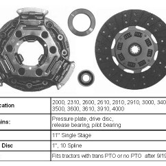 8n Ford Clutch 92 Honda Prelude Stereo Wiring Diagram Tractor Clutches And Parts - Order Online