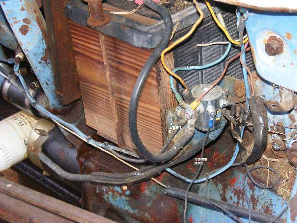 Ford 12 Volt Solenoid Wiring Diagram Ford 801 Tractor Diesel Starting Issues Ford Page 1