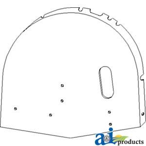 Case IH 2366 Grain Handling Area Service Parts
