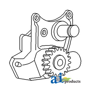 TP Parts 1 A-41314164 Massey-Ferguson PUMP OIL Tractor