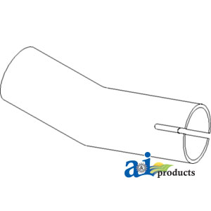 A-66711-54410 Kubota EXHAUST PIPE Tractor Part For Sale