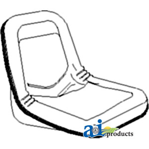 TP Parts 1 A-87019259 New-Holland SEAT Tractor Part For