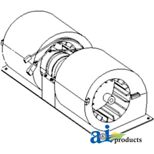 A-355190A1 Case-IH BLOWER ASSY Tractor Part For Sale $176
