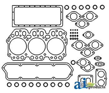 TP Parts 1 A-K965803 David-Brown GASKET SET LOWER Tractor